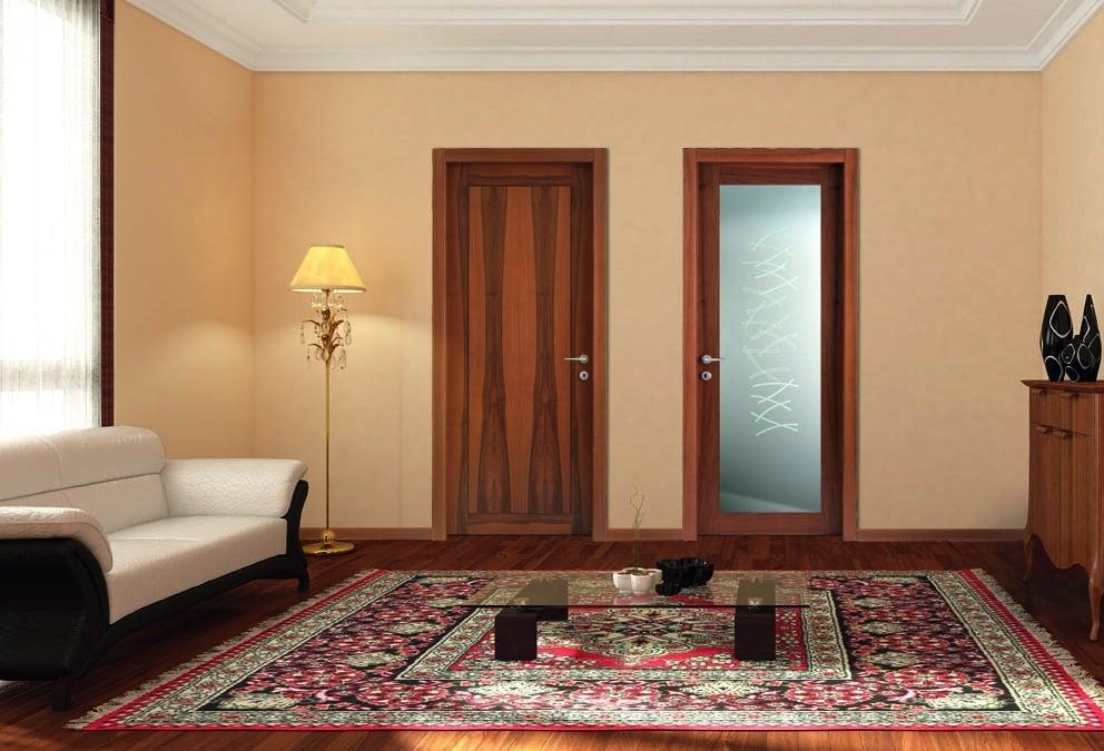 Arredare un appartamento con le porte in legno